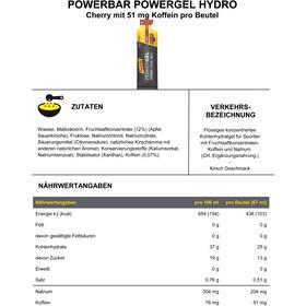 PowerBar PowerGel Hydro Box 24x67ml, Cherry with Caffeine